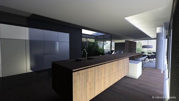 Maison l lyon s belle architecte int rieur cfai - Architecture interieur maison moderne ...