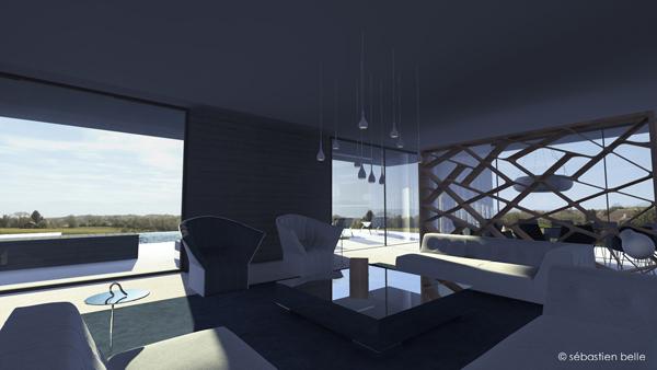 maison contemporaine s belle architecte int rieur cfai. Black Bedroom Furniture Sets. Home Design Ideas