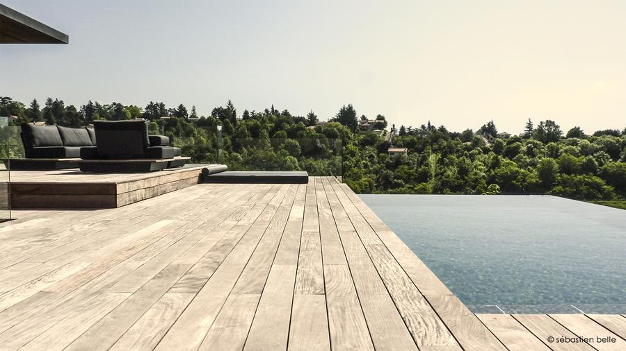extension moderne maison bois Lyon