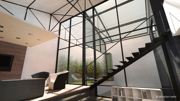 loft s lyon 4 s belle architecte int rieur. Black Bedroom Furniture Sets. Home Design Ideas