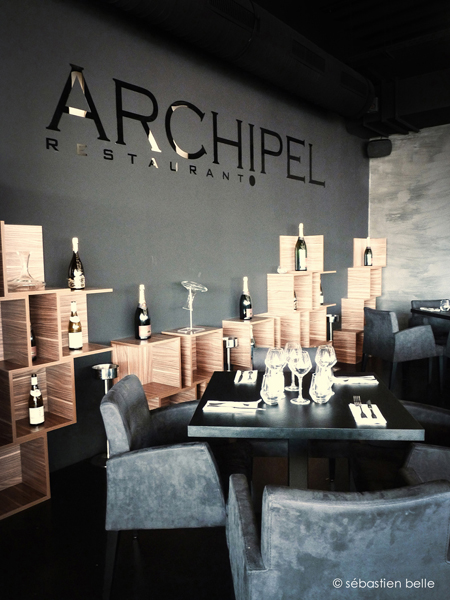 Restaurant archipel s belle architecte int rieur for Architecte interieur restaurant
