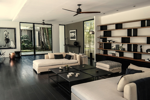 Bali villa design for Interieur villa de luxe